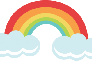 rainbow cute png 6