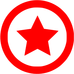 Image result for star icon red