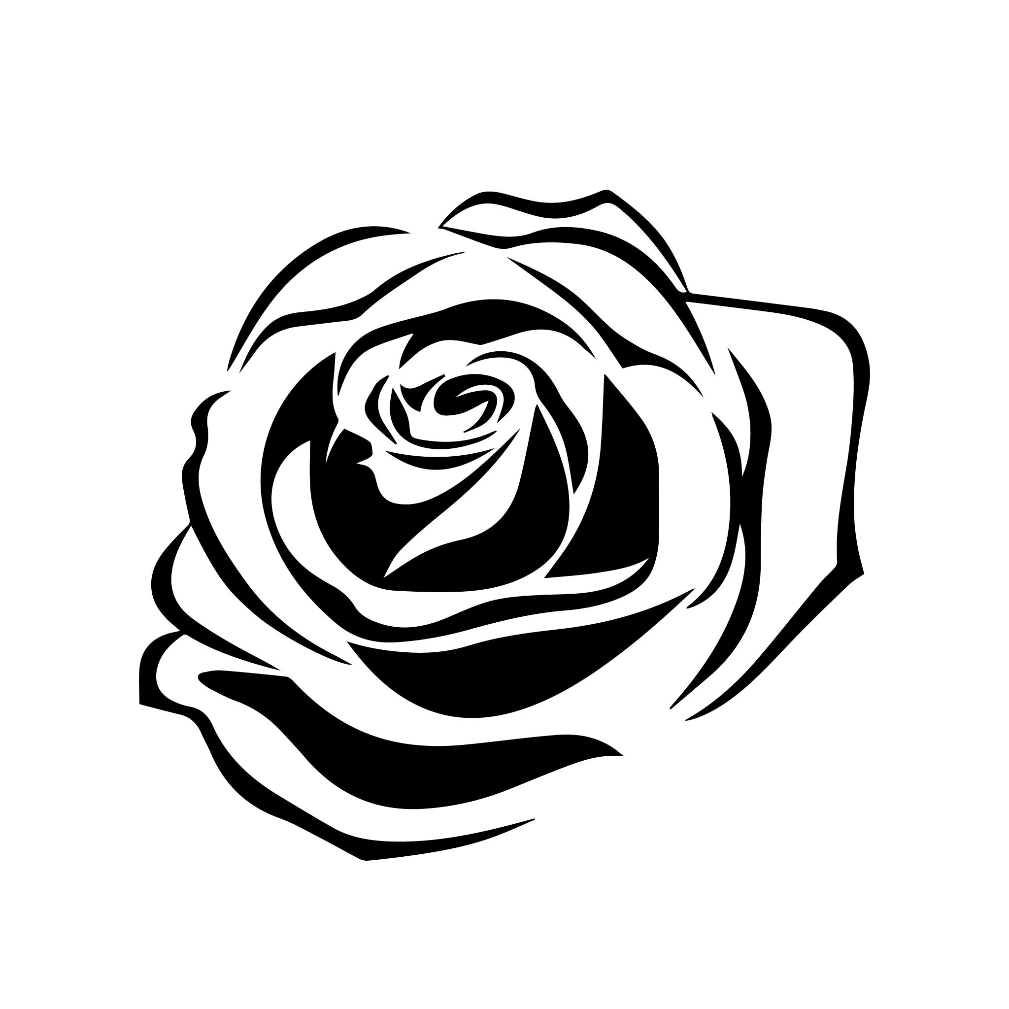 Rose Tattoo Png 5 Png Image