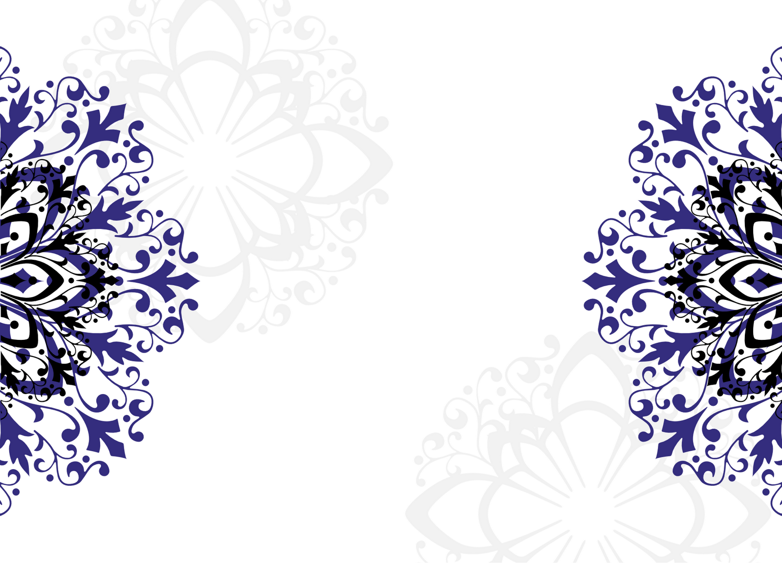 Royal Blue Wedding Background Design Png Png Image