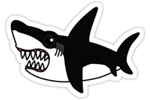 shark sticker png 3