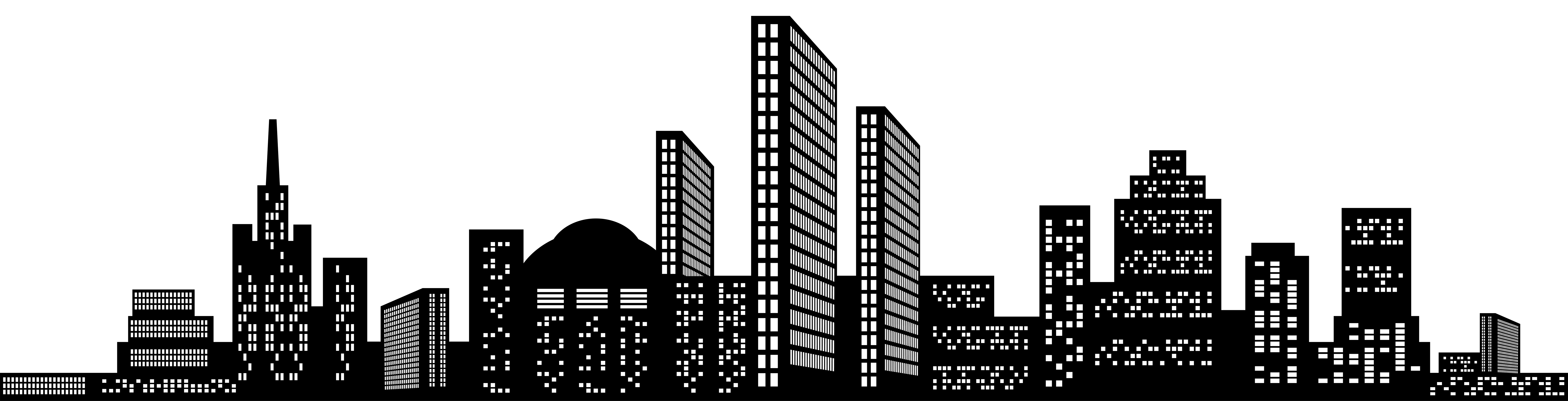 Silhouette Building Png 4 PNG Image
