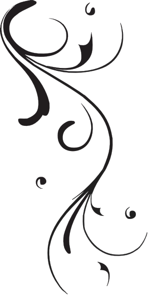Simple Swirl Design Black And White Png 5 Png Image