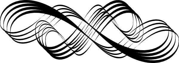 Simple Swirl Design Black And White Png 6 Png Image