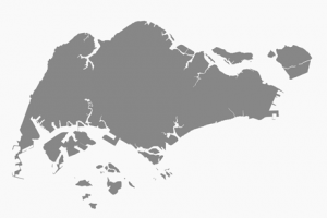 singapore island outline png