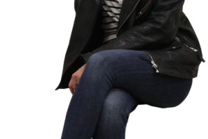 sitting woman png 6
