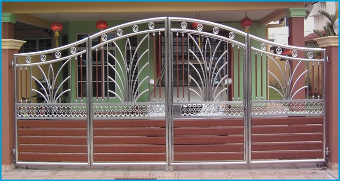 Malaysia Manufacturer Of Stainless Steel And Wrought Iron Gate Grill