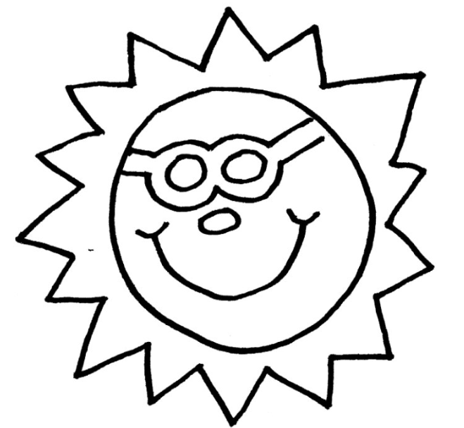 Sun Clipart Black And White Png 5 Png Image