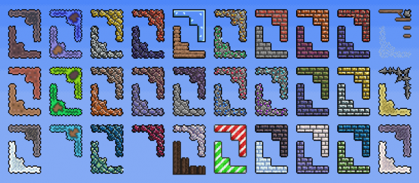 Terraria Silver Brick Wall Best Photos Of Imagefor