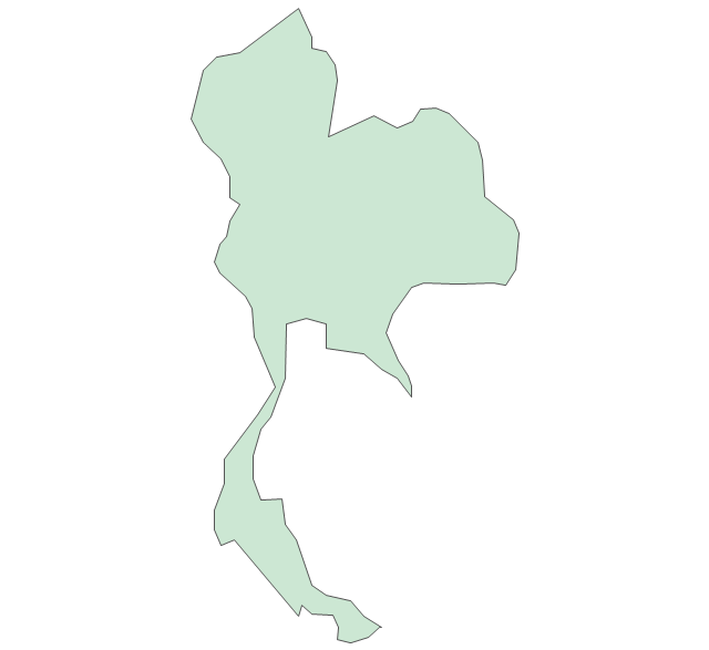 Thailand Map Vector Png 5 Png Image