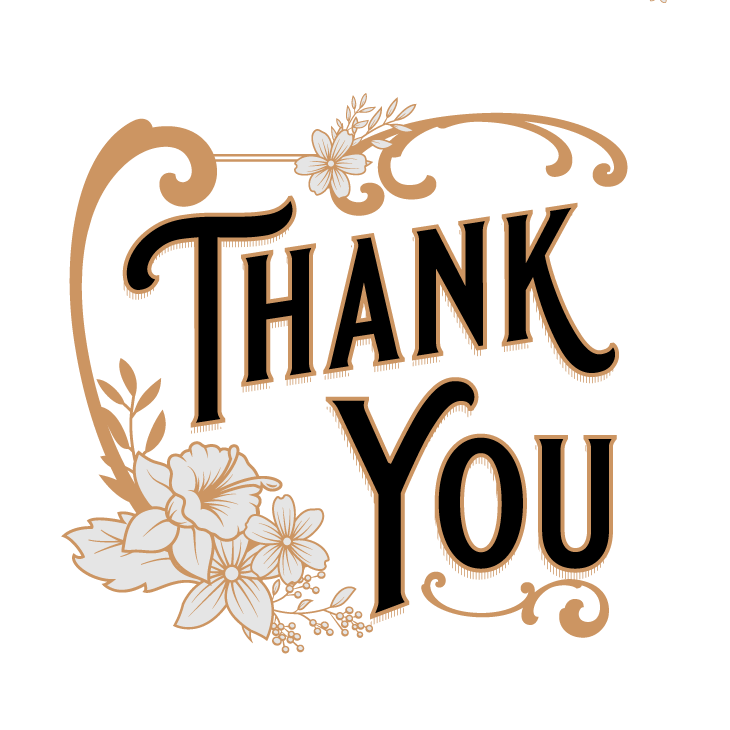 Thank You Vintage Png Png Image