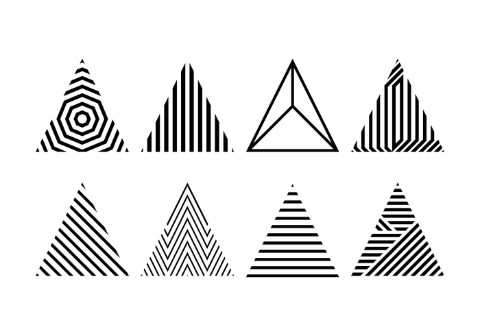 Triangulos De Colores Png Hipster 4 Png Image
