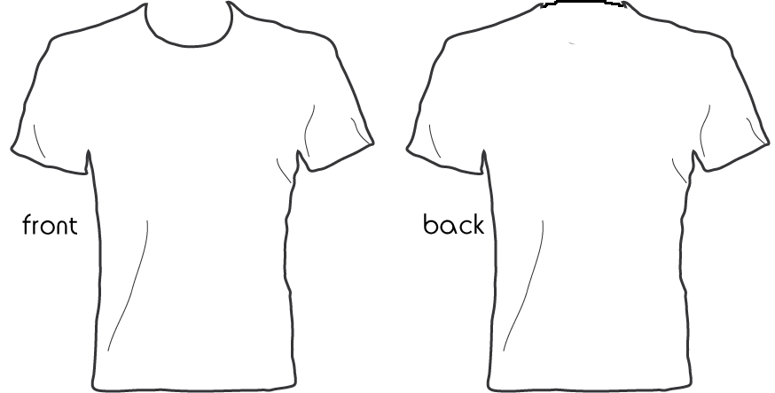 Tshirt Design Template Png Png Image
