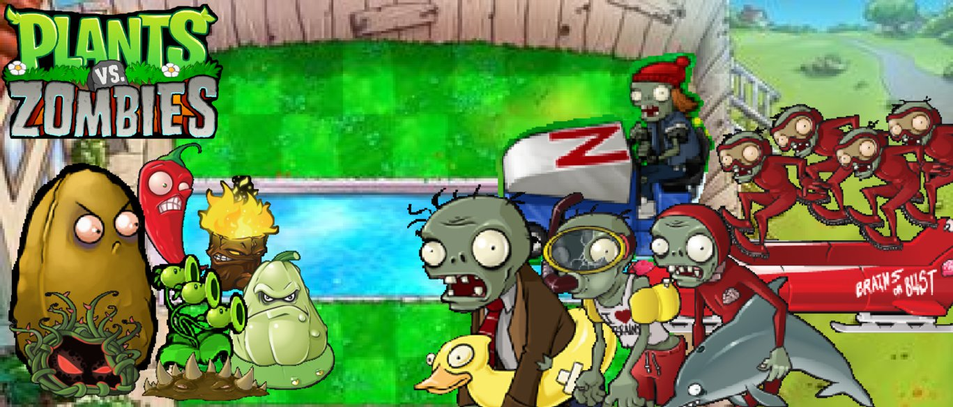 Wallpaper Plants Vs Zombies Png 2 Png Image