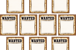 wanted western png 4