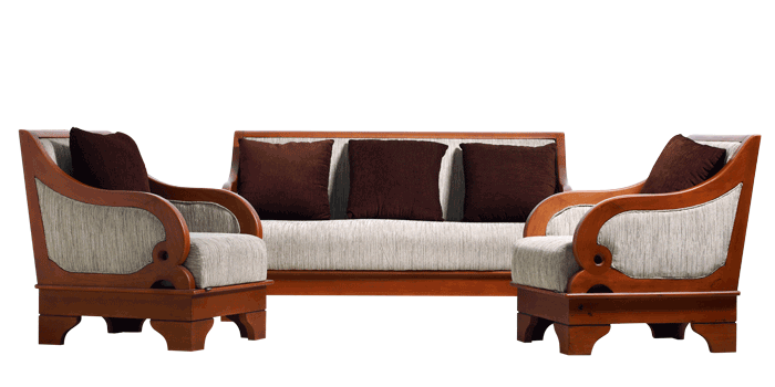 Wooden Sofa Png 2 Png Image