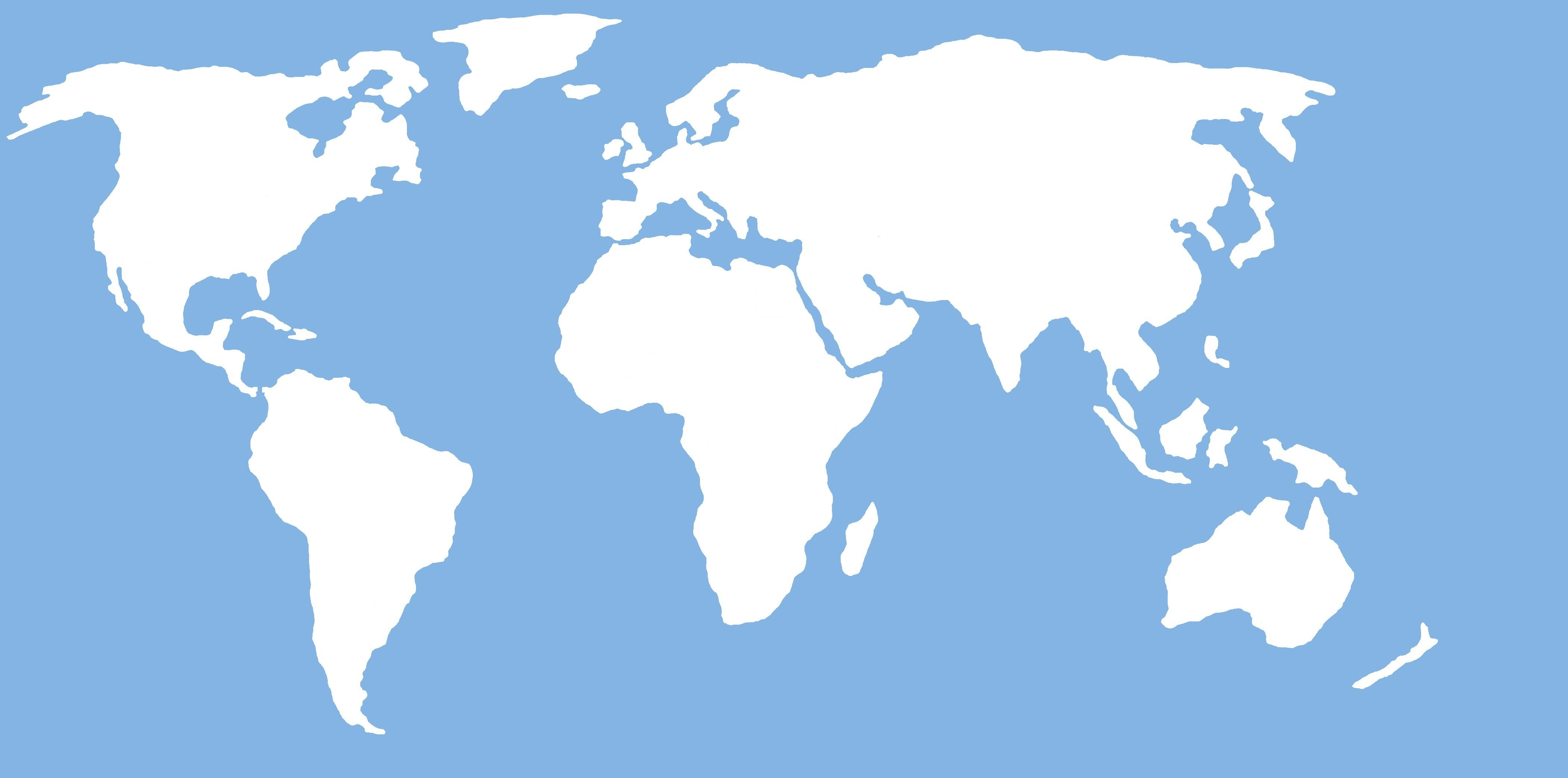 World Map Clipart Png 5 Png Image