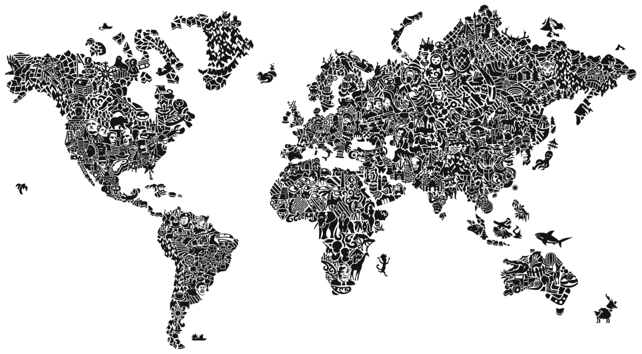 World Map Tumblr Png 4 Png Image