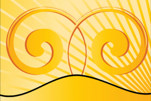 Yellow Vector Graphics Design Background Png 2 Png Image