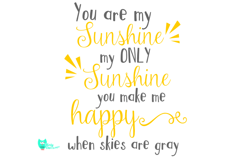 You Are My Sunshine Png 6 Png Image