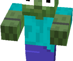 zombie png minecraft 1