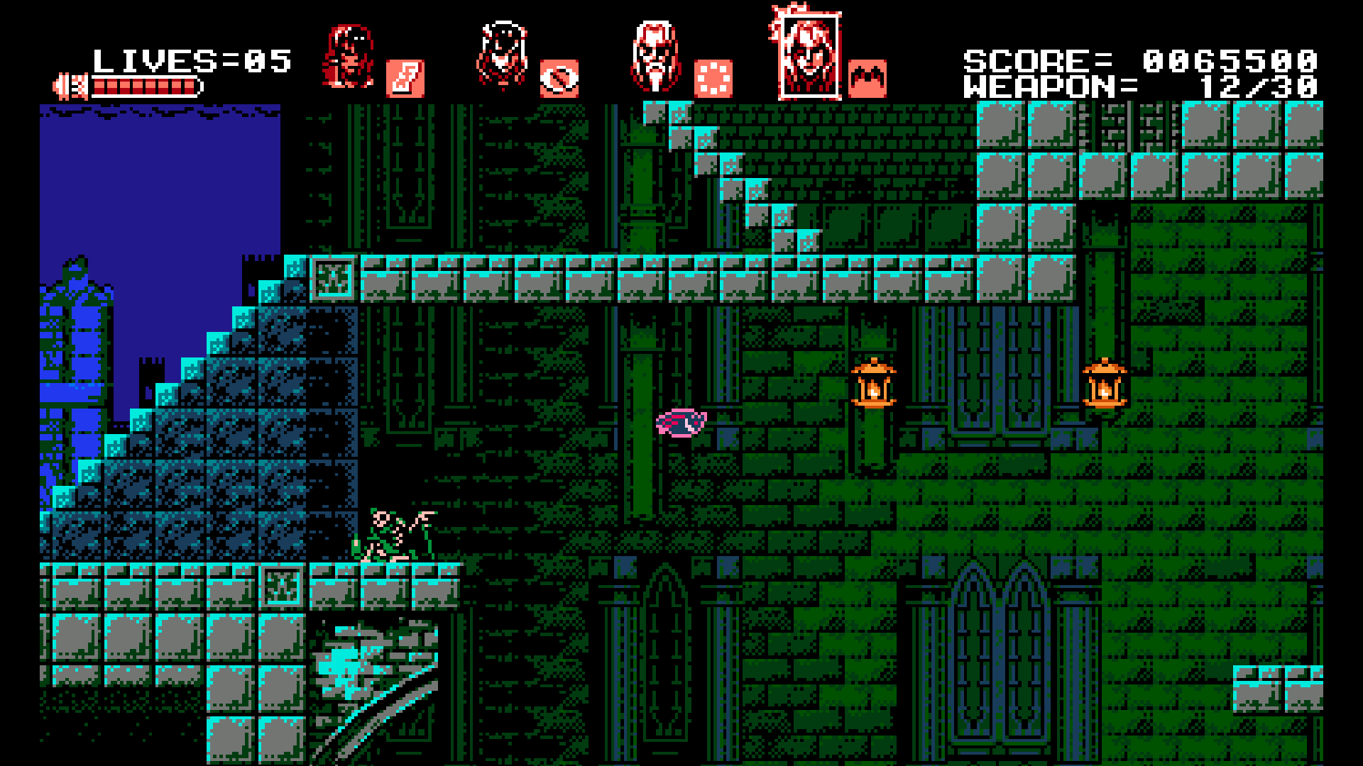 Bloodstained Curse Of The Moon Png 1 Png Image
