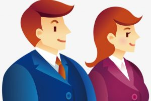 business lady cartoon png 1