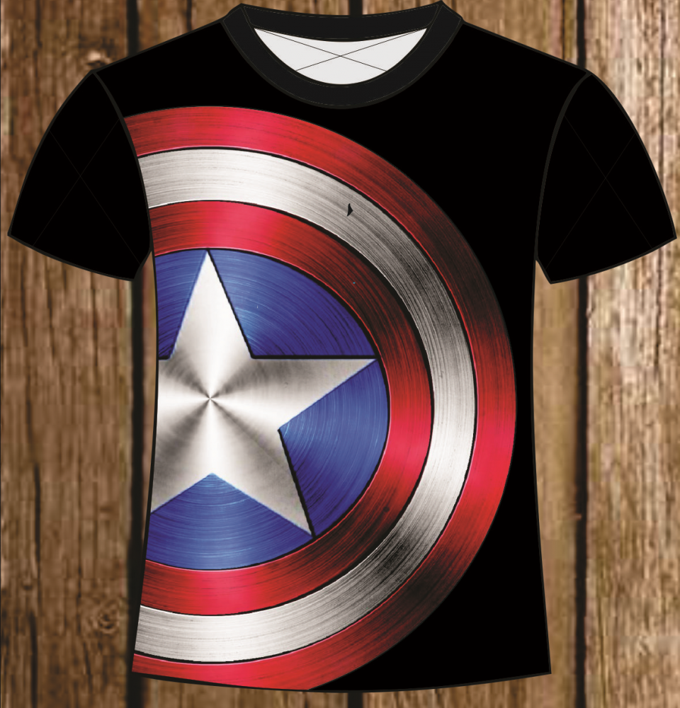 Capitao America Escudo Png 3 Png Image