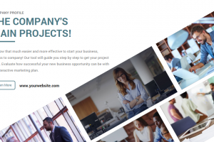 company profile template png