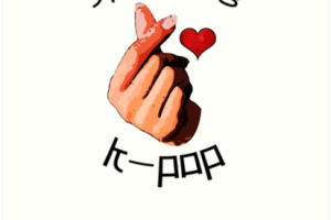 kpop heart sign png 4