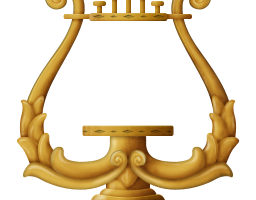 lyre clipart png 2