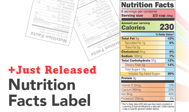 Nutrition facts label png 3 » PNG Image