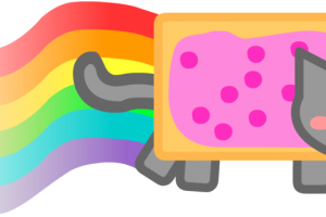 nyan cat rainbow png