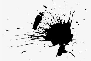 paint splatter png black 1