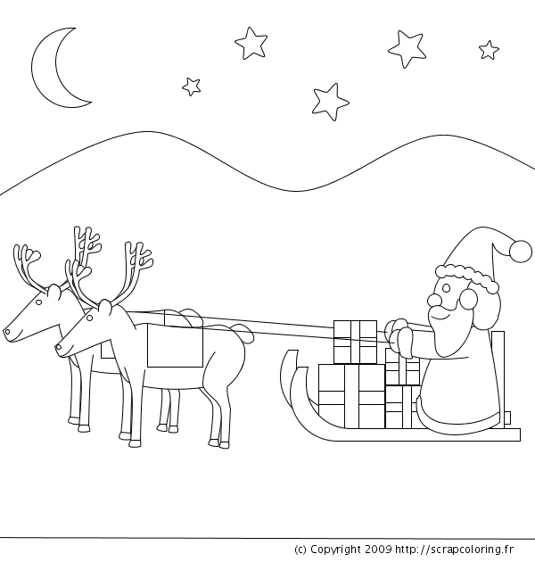 Pere Noel Png Dessin Png Image