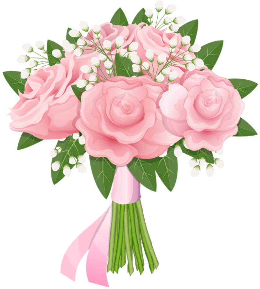 Pink Flores Rosas Png Png Image