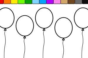 rainbow coloring page png