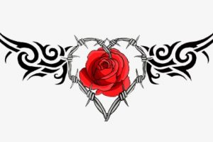 rose tatto png 1