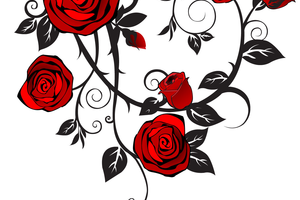 rose tattoo png