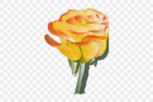 rose tattoo png 2
