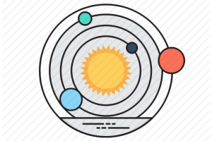 solar system cartoon png