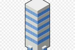 tall buildings png