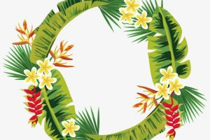 wreath of leaves png