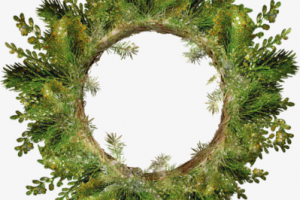 wreath of leaves png 1