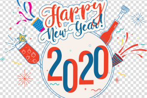 happy new year 2020 logo png 3