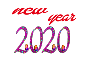 new year background png 2020
