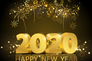 new year banner 2020 png