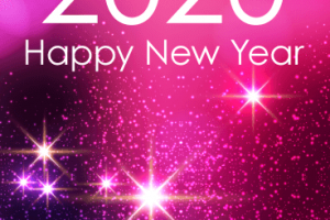 new year card png 2020 2