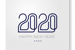 new year card png 2020 3