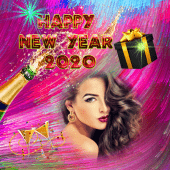 new year frame 2020 png 3
